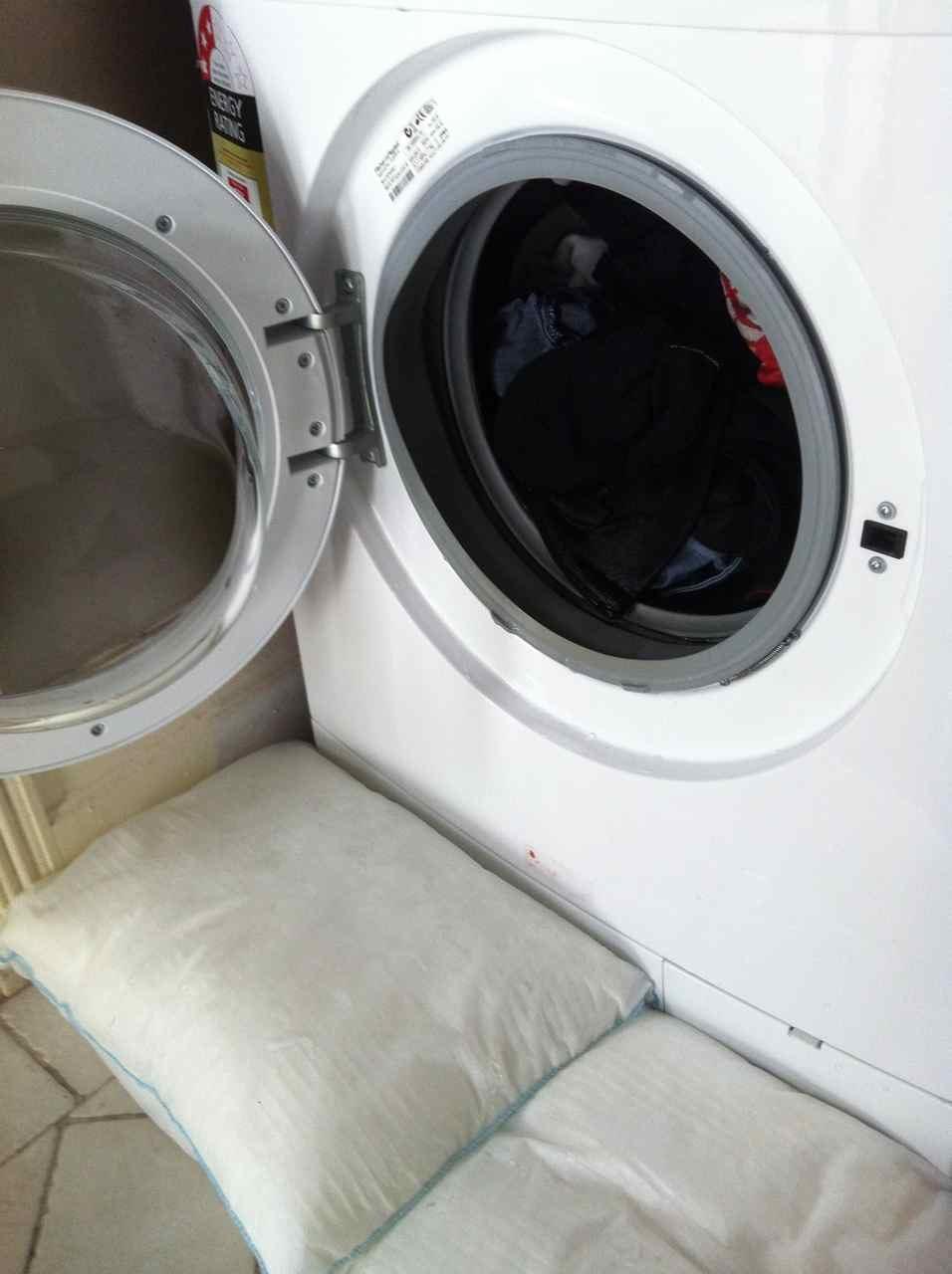 emergency washing machine