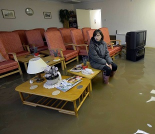 The terrible misery of a flooded home