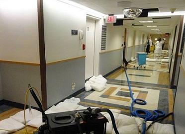 FloodSax alternative sandbags saved this hospital a fortune during a serious leak